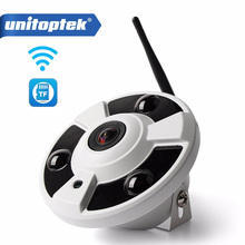 """HD kamera IP WIFI 1080P odkryty bezprzewodowy audio cctv bezprzewodowy dostęp do internetu Cam typu """"rybie oko"""" 180/360 stopni panoramiczny kamer Onvif gniazdo karty tf APP CamHi"""