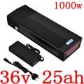 Аккумуляторная батарея для электровелосипеда 36 В 1000 Вт  литиевая батарея 36 в 25 А · ч  литиевая батарея с usb-портом и зарядным устройством 2 А