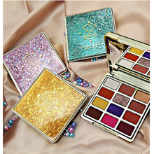 12 Colors Aristocratic Painting Eyeshadow Palette Shimmer Matte Pigmented Eye Shadow Powder Makeup Glitter Crystal Eyeshadow ucanbe brand 20 colors eyeshadow makeup palette shimmer matte radiant pigmented cosmetic eye shadow powder natural sexy eye set