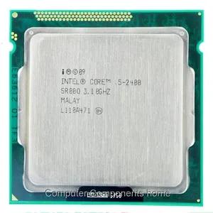 Четырехъядерный процессор intel Core i5-2400 i5 2400 3,1 ГГц 6 Мб кэш-памяти LGA1155