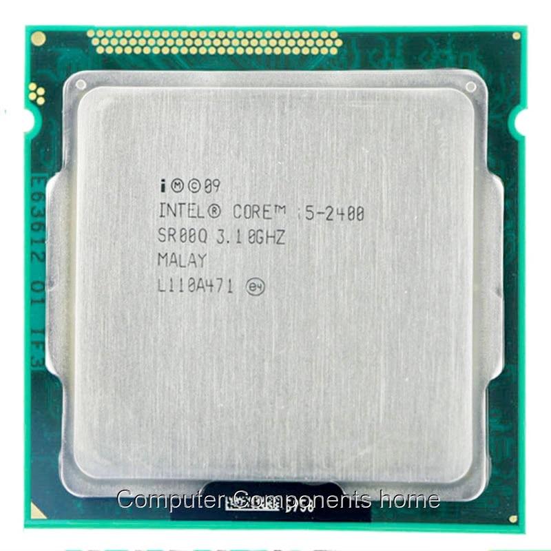 Intel Core I5-2400 I5 2400 3.1GHz Quad-Core Processor 6 MB Cache Socket LGA1155