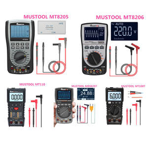 Oscilloscope Multimeter Storage MUSTOOL MT8205 MDS8207 2-In-1 MT108T MT110 Intelligent