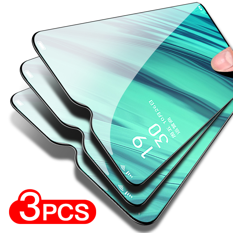 3PCS Full Cover Protective Glass For Xiaomi Redmi Note 5 6 7 Pro Tempered Screen Protector Glass On The Redmi Note 4X 4 8 Film