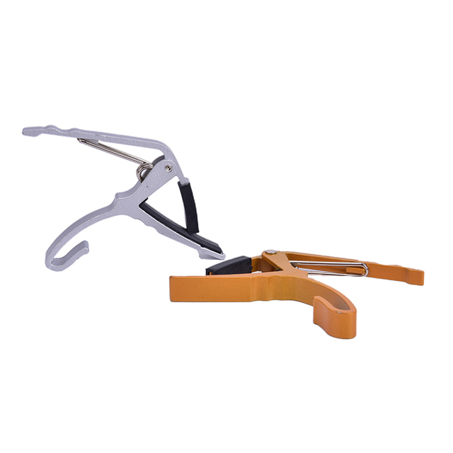 Professional Aluminum Alloy Ukulele Guitar  Acoustic Tune Quick Change Trigger Acoustic Electric Guitar Capo Key Clamp