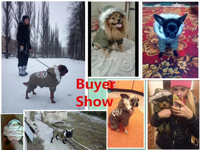 Высококачественная зимняя теплая одежда для собак с капюшоном, утепленное хлопковое пальто для щенков, куртки для чихуахуа, одежда для собак, комбинезон-2