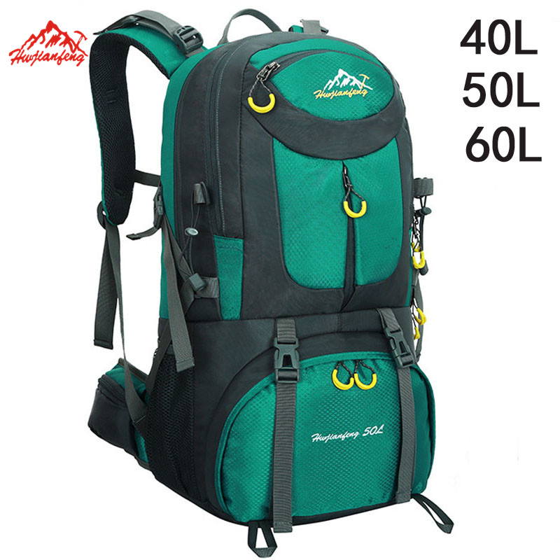 40L 50L 60L Outdoor Waterproof Bags Backpack Men Mountain Climbing Sports Rucksack Hiking Bagpacks Women Bag Camping Travel Bag