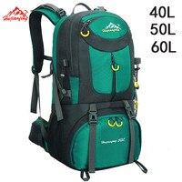 40L 50L 60L Outdoor Waterproof Bags Backpack Men Mountain Climbing Sports Rucksack Hiking Bagpacks Women Bag Camping Travel Bag