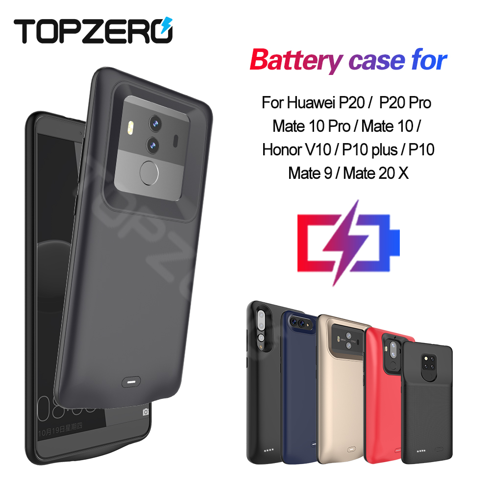 <font><b>Battery</b></font> <font><b>Case</b></font> For <font><b>Huawei</b></font> Honor V10 Mate 9 10 pro 20x Portable Charger Power Bank <font><b>Case</b></font> For <font><b>Huawei</b></font> <font><b>P10</b></font> Plus P20 Pro Power <font><b>Case</b></font> image