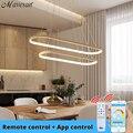 Современный светодиодный подвесной светильник  светильники для столовой  спальни  Подвесные лампы  Домашний Светильник  для кухни  AC 90-260 В