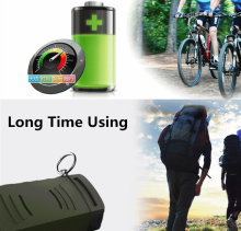 Пылезащитный уличный динамик mp3 для кемпинга велосипеда bluetooth