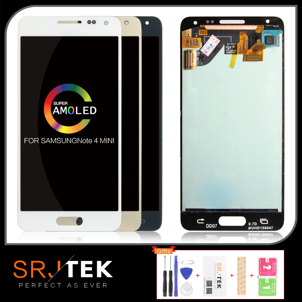 Original 4.7 AMOLED/OLED Screen <font><b>For</b></font> <font><b>SAMSUNG</b></font> <font><b>Galaxy</b></font> <font><b>Alpha</b></font> <font><b>LCD</b></font> Display Note 4 MINI <font><b>G850</b></font> G850F SM-<font><b>G850</b></font> <font><b>LCD</b></font> Touch Replacement Parts image