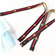 Тканевый ремешок для маски шириной 2 см держателя на шею (2