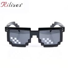 Персональный, шикарный солнцезащитные очки для мужчин и женщин бренд Thug Life очки для вечеринки мозаичные винтажные очки