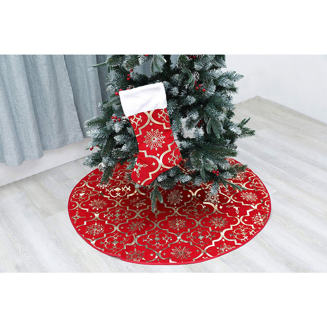 Tree Skirts Creative Christmas Decoration New Year Home Outdoor Decor Event Party Tree Skirts For New Year Carpet Decorations 4
