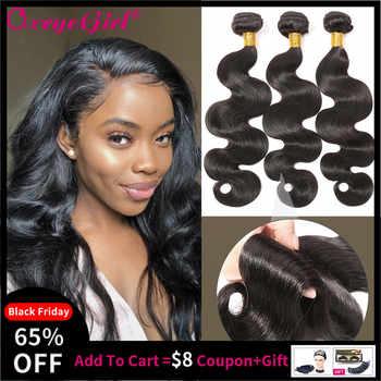 Body Wave Bundles 8- 30 Inch Bundles 100% Human Hair Extension Oxeye girl Brazilian Hair Weave Bundles Non Remy Hair 3/4 Bundles - DISCOUNT ITEM  46% OFF All Category