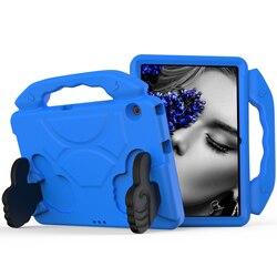 T3 10 Tablet pokrywa kciuk odporny na wstrząsy dzieci EVA stojak Case dla Huawei MediaPad T3 10 9.6 cal AGS-W09 AGS-L09 AGS-L03 Shell Funda