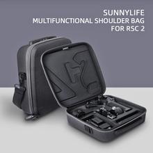 Carry Storage Case Voor Dji Ronin Rsc 2 Draagbare Handheld Schouder Crossbody Zakken Reizen Draagbare Beschermende Draagtas