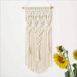 マクラメ自由奔放に生きるタペストリー壁掛け手織り家の装飾アクセサリー北欧アートタッセルアパート寮の部屋の装飾