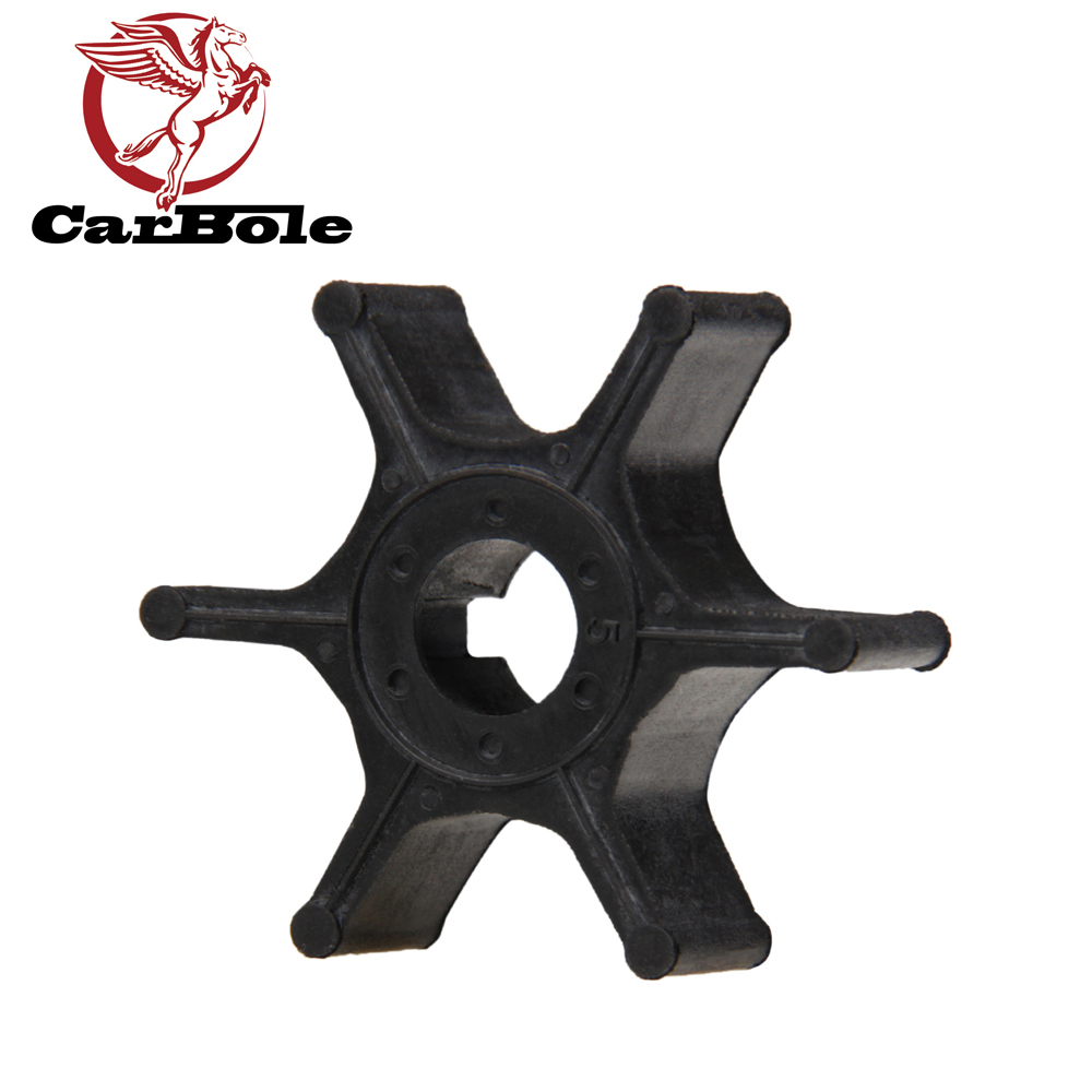 CARBOLE For Suzuki 2-stroke Outboard Motor Water Pump Impeller IMP1028 17461-98501 98502 98503 18-3097 500336 4HP5HP678HP