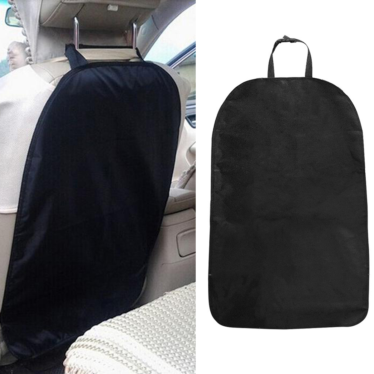 Hot Car Seat Back Cover Protect From Mud Dirt Protection From Children Baby Kicking Auto Seats Covers Protectors Oxford Cloth