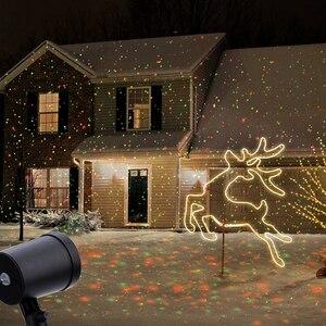 Image 1 - Proiettore Laser esterno Cielo star Riflettore Docce di Paesaggio Luci Della Discoteca del DJ R & G Giardino Prato festa Di Natale
