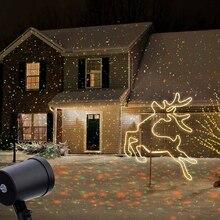 Projetor laser para áreas externas, estrela, holofotes, para paisagem, dj, disco, luzes r & g, jardim, gramado, festa de natal
