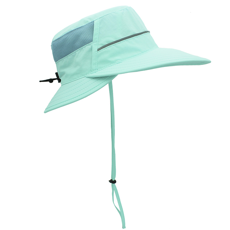 Novelty Design Sun Hat Men's and Women's Sun Protection Fishing Hats Polyester Quick-drying Wide Brim Hat