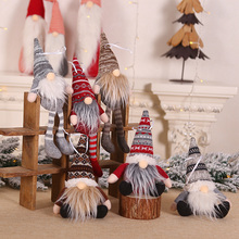 Boże narodzenie wisiorek w kształcie lalki choinka Decor 2020 ozdoby choinkowe dla domu Xmas Navidad prezent szczęśliwego nowego roku 2021 tanie tanio ZQNYCY CN (pochodzenie) CH215 Bez pudełka