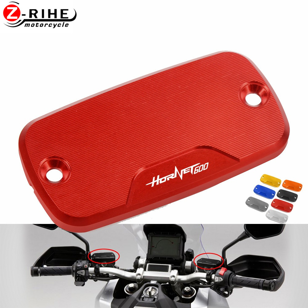 1 Piece Motorcycle Fluid Tank Cap Power Front Brake Reservoir Cover For <font><b>Honda</b></font> <font><b>Hornet</b></font> <font><b>600</b></font> 1998 1999 2000 2001 2002 <font><b>2003</b></font> 2004-2014 image
