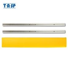 "TASP 2 قطعة 13 ""سمك أرياش المسحاج مزدوجة ارتفع السكاكين 333x12x1.5 مللي متر ل دلتا 22 580 22 590 TP300 Metabo DH330 ون 6552 043"