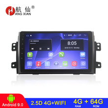 Car-Radio Android Suzuki Gps Navigation Fiat 2din for SX4 Sedici 64G
