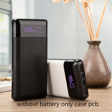 QC3.0 PD18wバッテリー急速充電器diy急速充電電源銀行ポリマーケース18650ホルダー