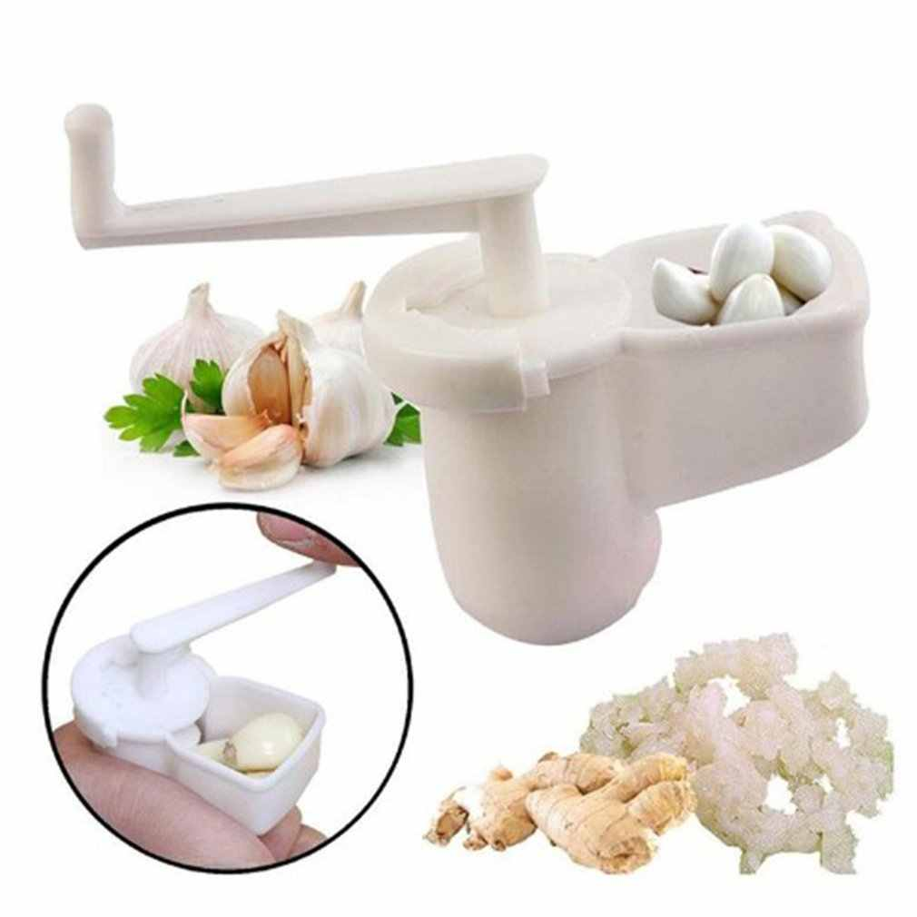 Panas Manual Bawang Putih Sumpit Alat Bawang Putih Penggiling Bawang Mixer Tangan Memutar Bawang Putih Mesin Dapur Utility Gadget