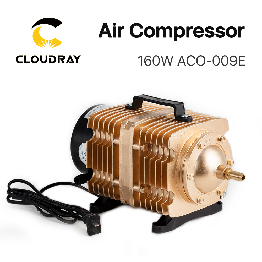 Cloudray 160W Air Compressor Electrical Magnetic Air Pump for CO2 Laser Engraving Cutting Machine <font><b>ACO</b></font>-<font><b>009E</b></font> image