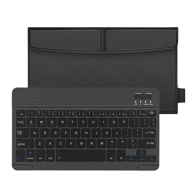 Купить с кэшбэком 7/8/9 in Wireless Bluetooth Keyboard Ultra-thin USB Charging for Laptop PC Table