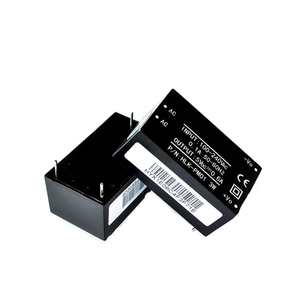 HLK-PM01 HLK-PM03 HLK-PM12 AC-DC 220V to 5V 3.3V 12V AC to DC Isolated Power Module UL/CE Household Switch Power Supply Module