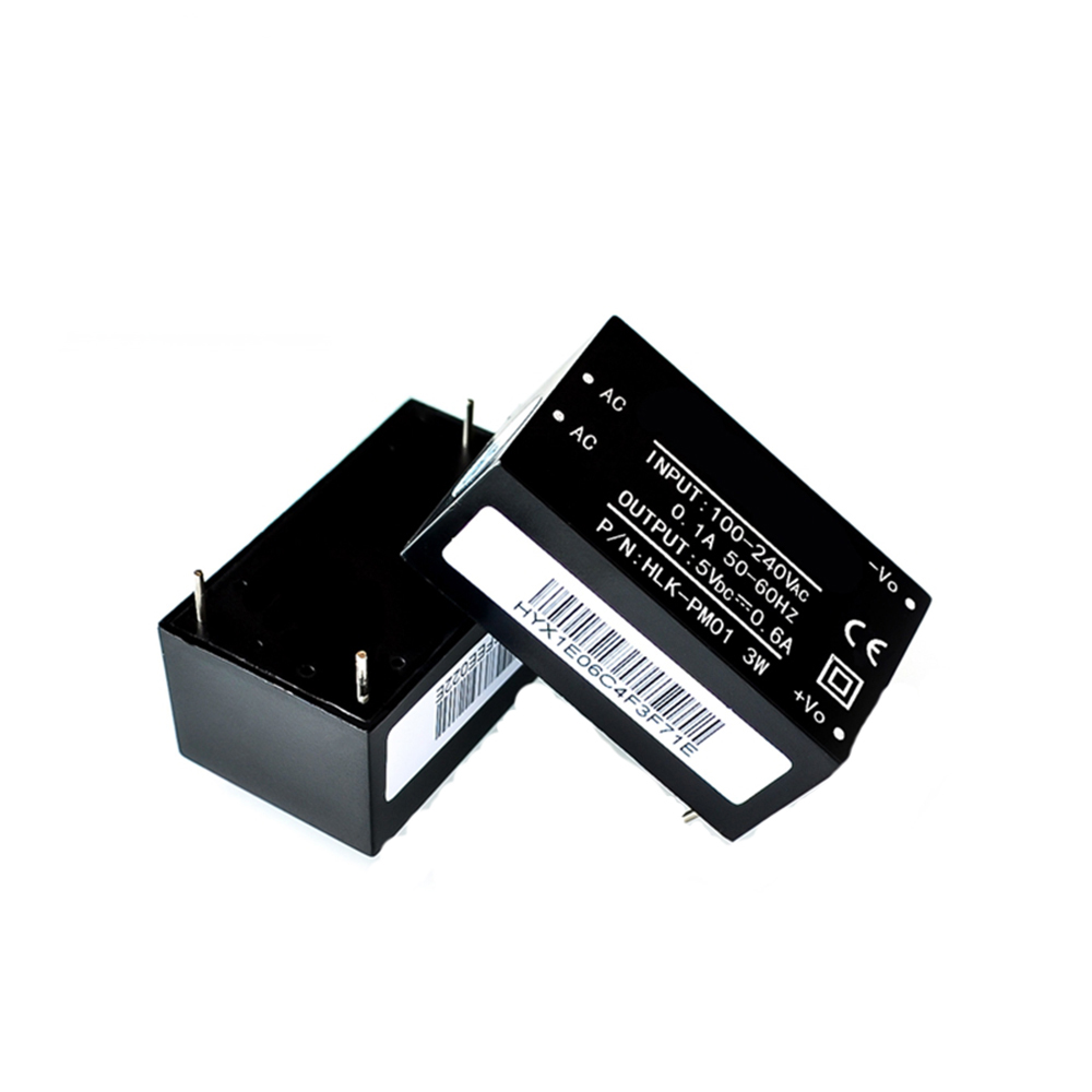 HLK-PM01 HLK-PM03 HLK-PM12 AC-DC 220V to 5V 3.3V 12V AC to DC Isolated Power Module UL/CE Household Switch Power Supply Module image