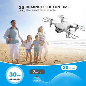 New V9 Mini Drone 4k profession HD Wide Angle Camera 1080P WiFi fpv Drone Dual Camera Height Keep Drones Camera Helicopter Toys 3