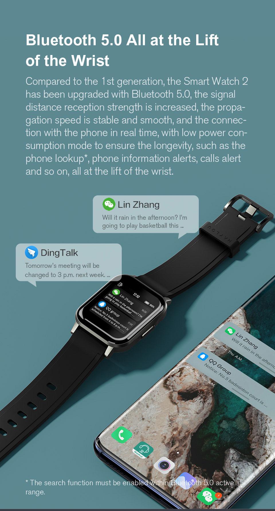 Haylou LS02 Smart Watch 7