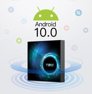 Image 3 - 2020 VONTAR T95กล่องทีวีAndroid 10 4G 64Gb 32Gb Allwinner H616 Quad Core 1080P H.265 4K TVBOX Android 10.0 Set Top Box 2GB 16GB