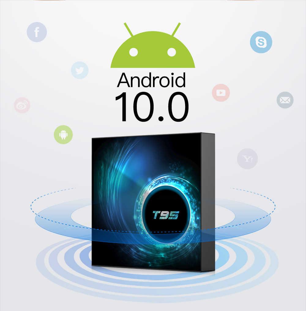 2020 VONTAR T95 TV Box Android 10 4GB 32GB 64GB Allwinner H616 Quad Core 1080P H.265 4K TVBOX 2GB 16GB Android 10.0 Set top box