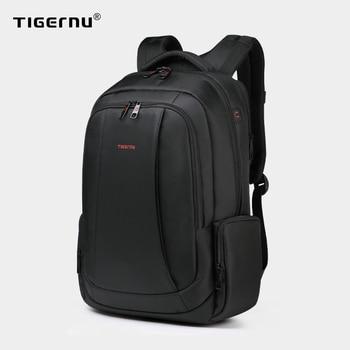 Tigernu Splashproof Nylon Backpack Female Men's Backpacks for 15.6 1