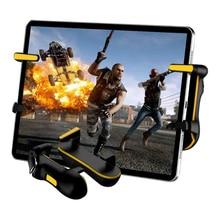 Mobilny kontroler PUBG do tabletu, automatyczne kontrolery gier mobilnych wysokiej częstotliwości L1R1 przycisk ognia przycisk Gamepad gra Joystick