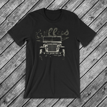 Willys Jeep Life Behind Bars T-Shirt Rubicon Cj Car Brand T Shirt 2019 Fashion Round Neck Best Selling Male Natural Cotton Tees