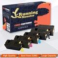 4 шт цветные тонер-картриджи для Dell 1660 BK/C/M/Y для Dell C1660 C1660CN C1660W C1660CNW принтера