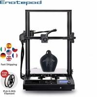 Fast Shipping Enotepad S8 FDM 3D Printer Larger Printing Size PLA 3d Filament Extruder Resume Power Failure Printing 3D Printer