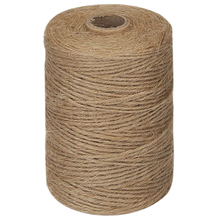 2mm Twine Packing-String Brown Natural Thick Home-Gardening for Plant Picture-Hanger