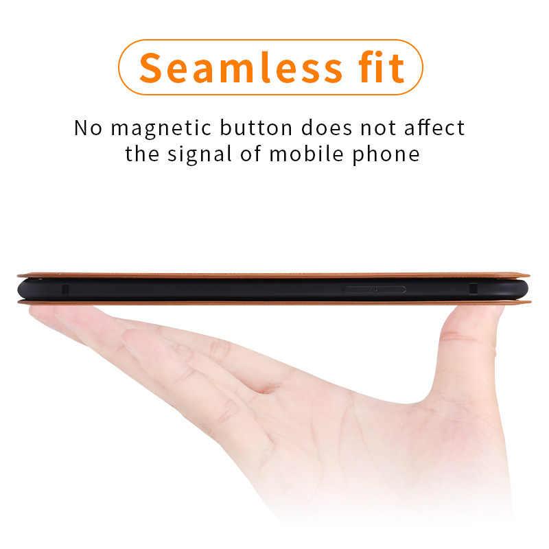 المغناطيسي محفظة طي جلدية غطاء آيفون 6 6s 7 8 Plus X XR حقيبة لهاتف أي فون 11 برو XS ماكس حامل بطاقة حامل