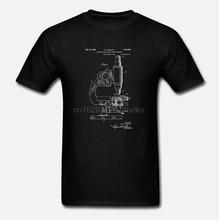 Микроскоп футболка наука футболка микроскоп патент биология подарок биолога подарок