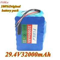 원래 7s5p 새로운 승리 24 V 32Ah 리튬 배터리 전기 자전거 18650/24 V (29.4V) 리튬 이온 배터리